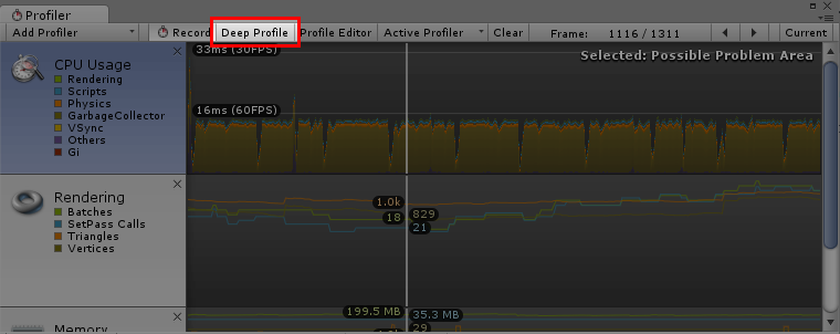 Deep Profiling: A button click away
