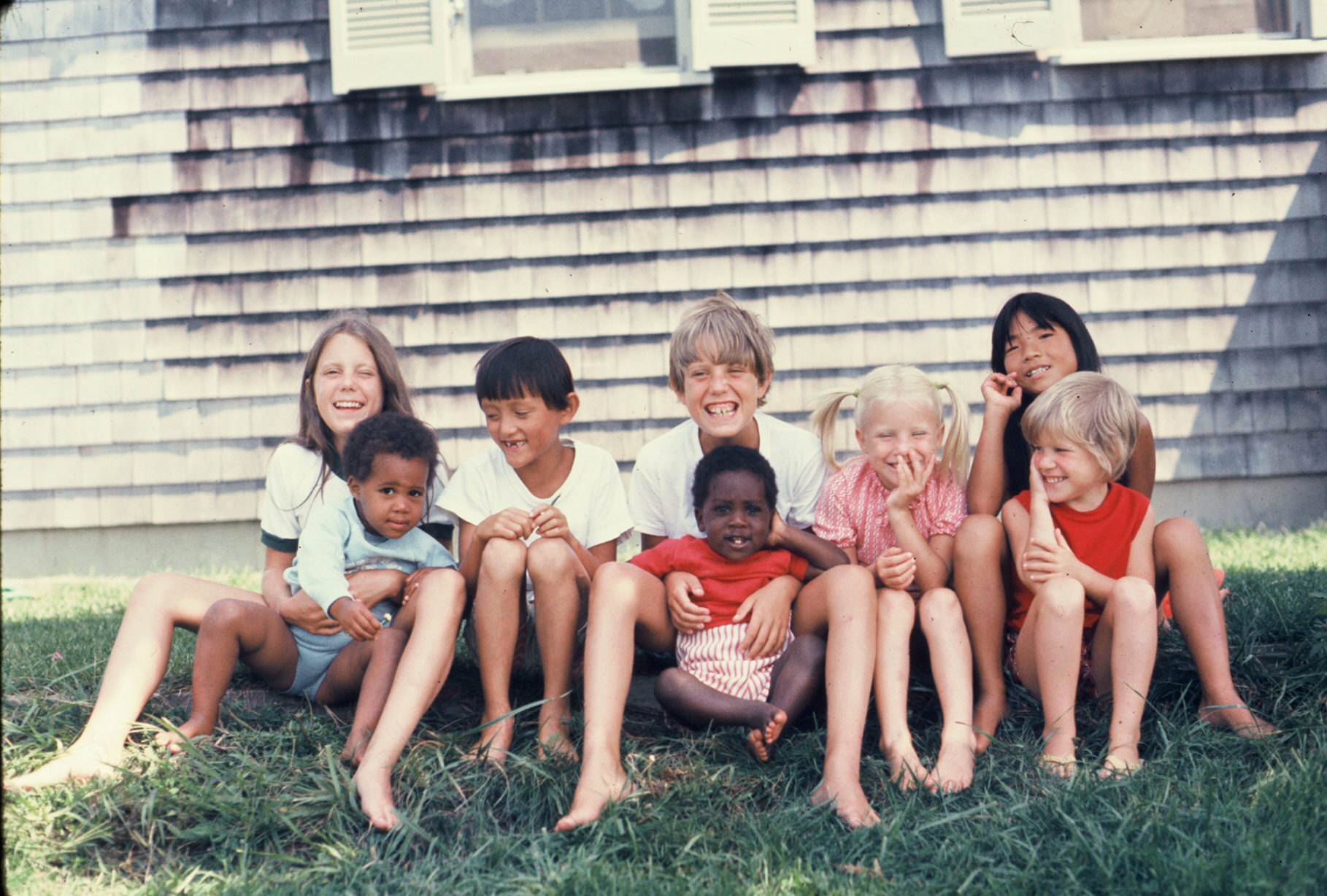 me and my siblings, ca. 1972