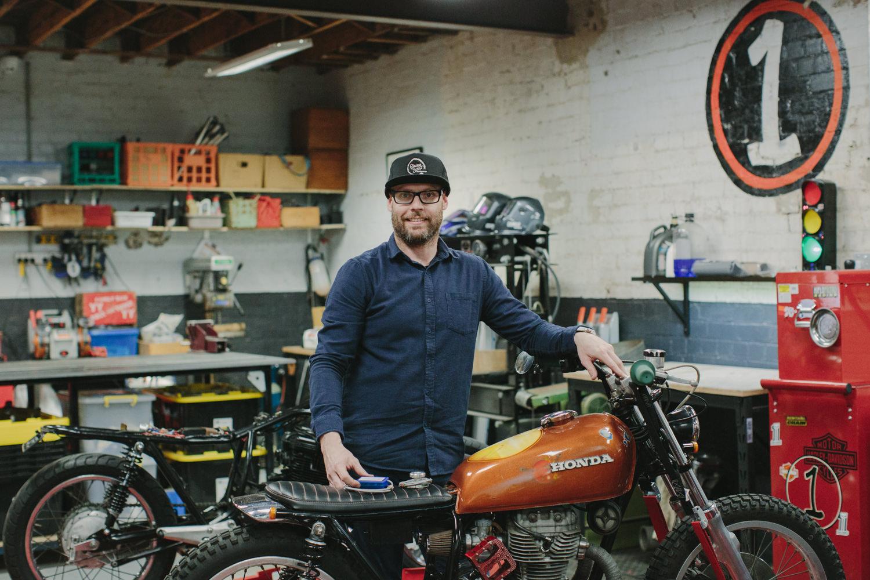 Brad Coles (Workshop Manager)