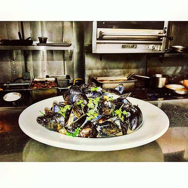 It's Monday!! Which means we will be serving our delicious Mussels & Fries tonight for $16. #dailyspecial #franklinvillage