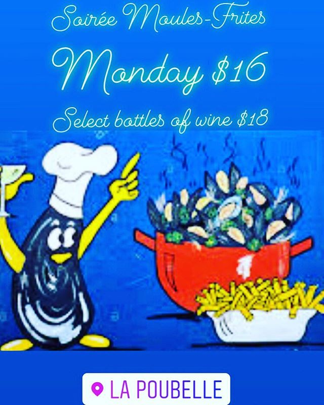 Mussels Monday $16👨‍🍳 Wine Bottle specials $18 🍷 And of course just enough fun for a Monday evening 🥰 . . . #franklinvillage #beachwoodcanyon #hollywood #goodvibes #ilovela #musselsmonday #musselsandfries #winestagram #wineandfood #winelover #eatlocal ❤️❤️❤️