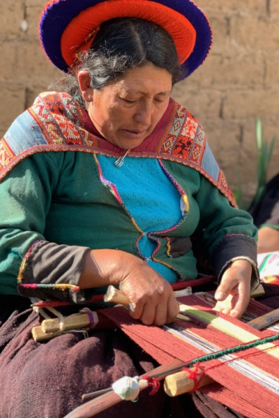 Chari Village Weaver
