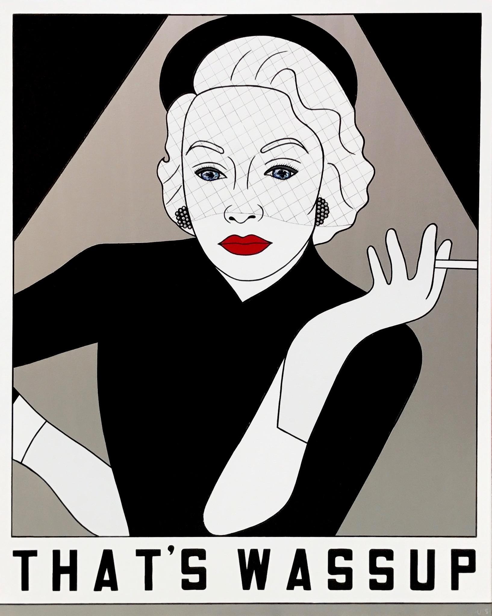 Marlene Deitrich, That's Wassup, Brand Us Art, 60 x 48 inches1.jpg