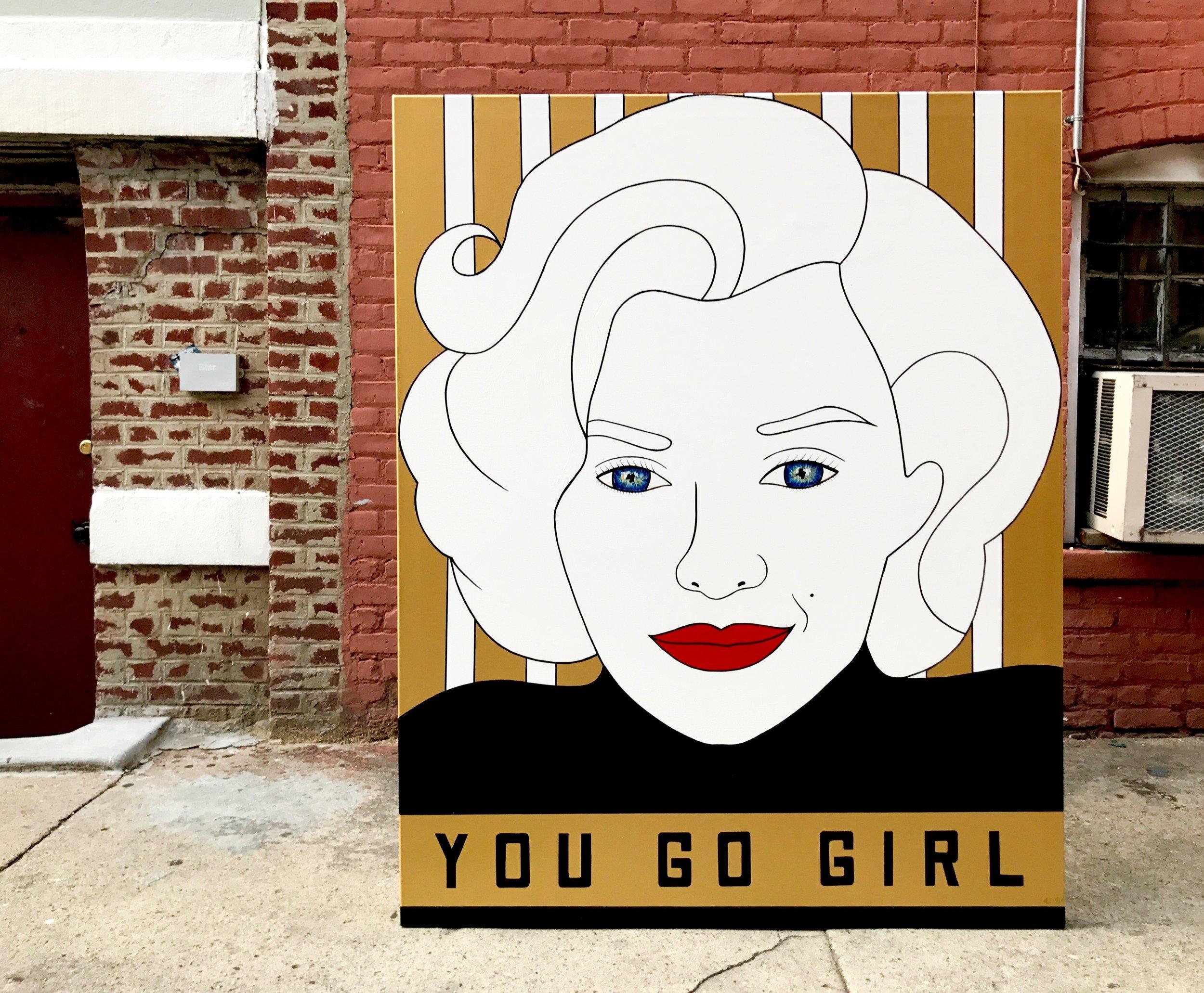 Marilyn Monroe- You Go Girl