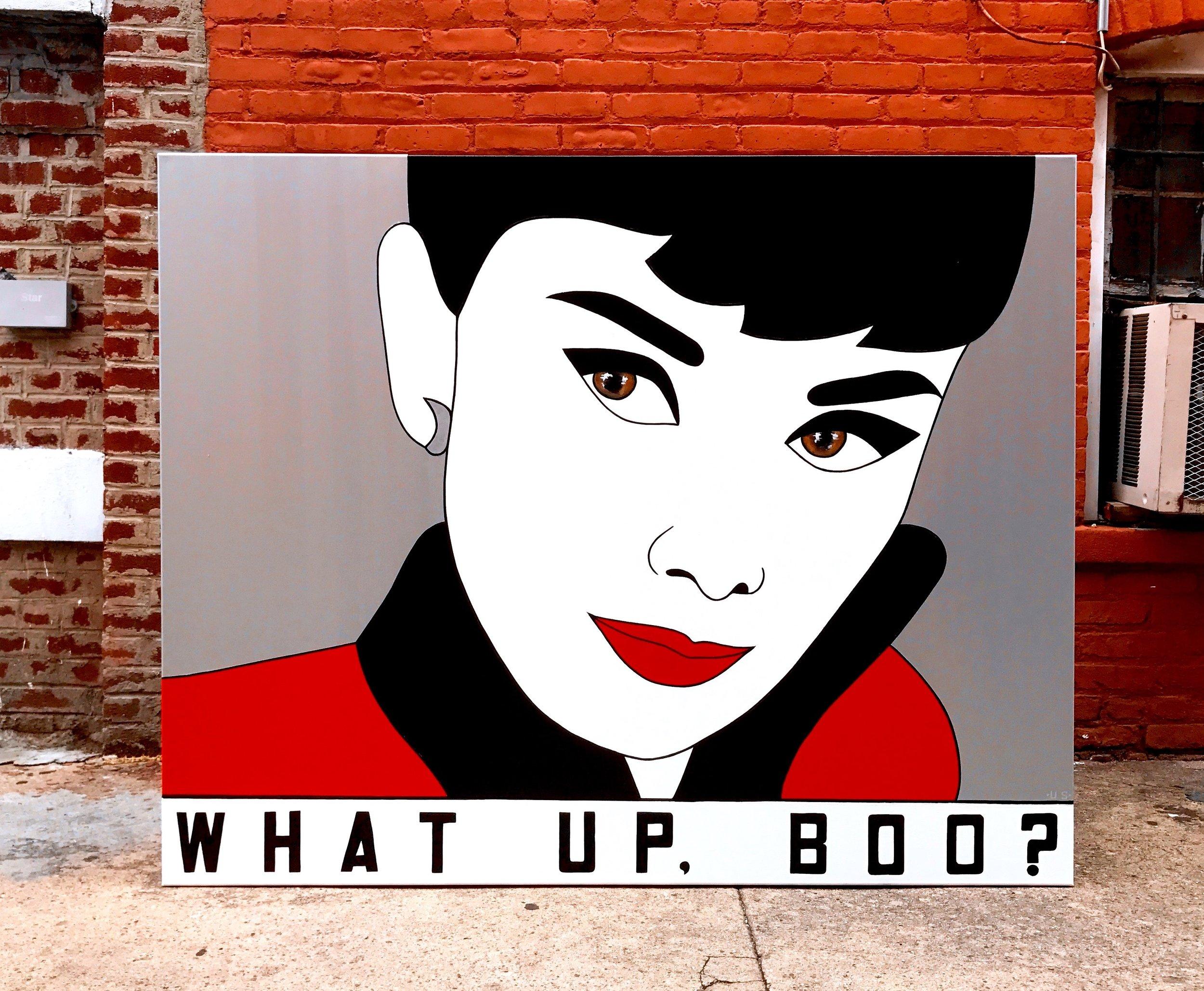 Audrey Hepburn (What Up, Boo?)