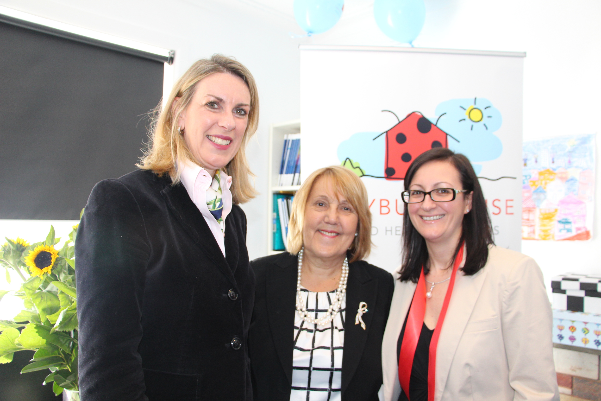Georgie Crozier MLC, Mayor Jan Chantry, Maria Guzzardi.JPG