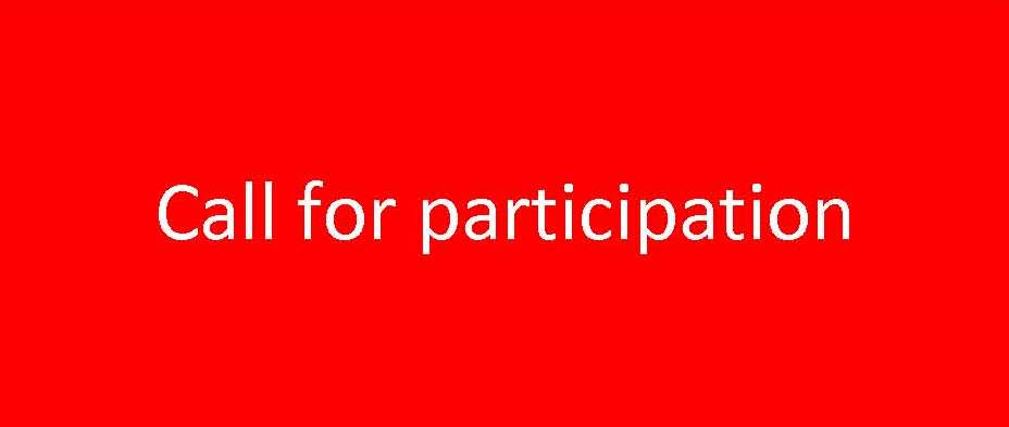 Click to download Call for participation