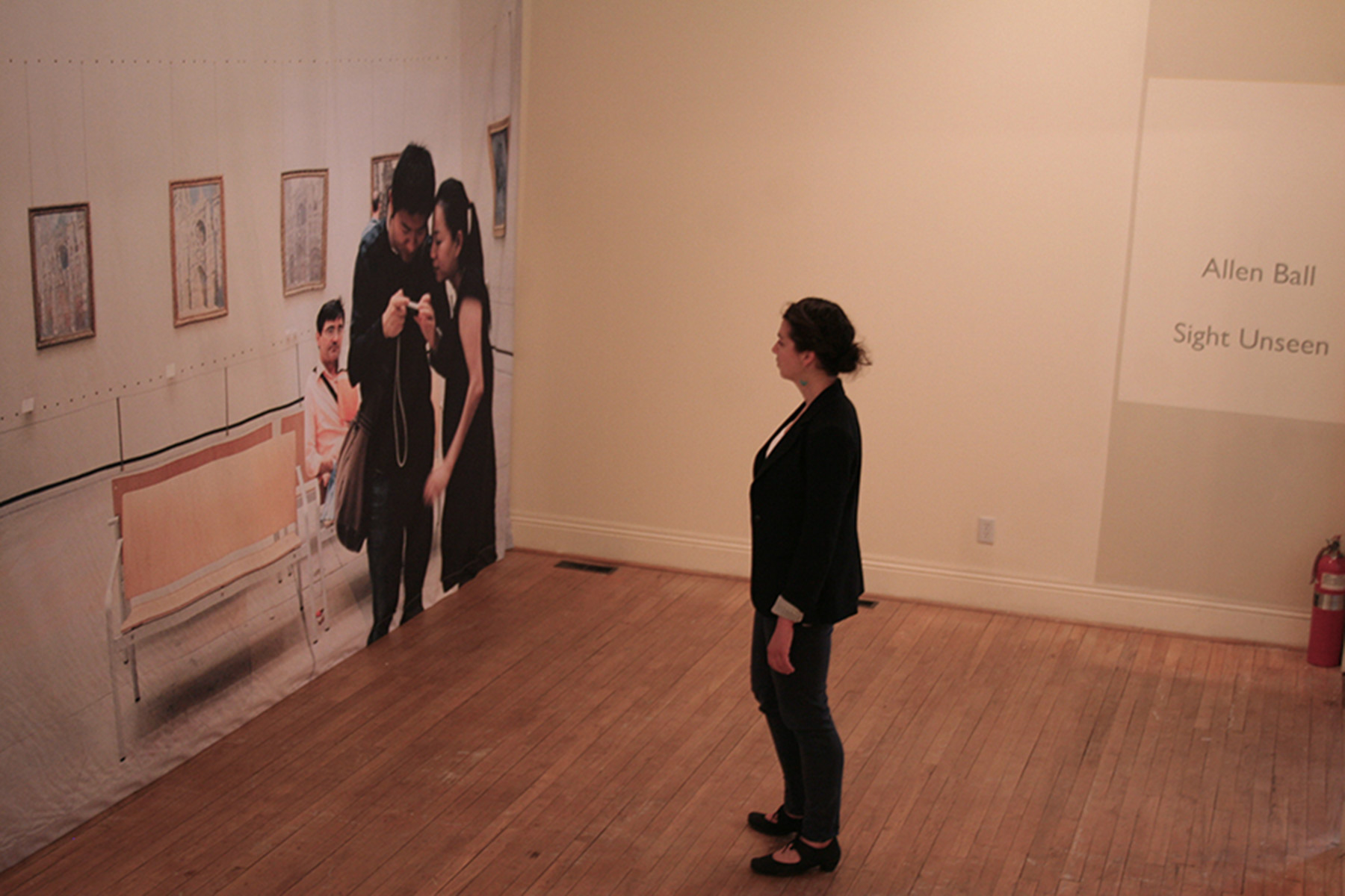 Sight Unseen , 2013 Installation view Multicultural Centre, Stony Plain, Alberta, Canada