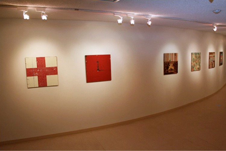 Installation view of  William Blake: Songs of Innocence , a solo exhibition presented in 2008 at Keyano Art Gallery, Keyano College, Fort McMurray, Alberta, Canada
