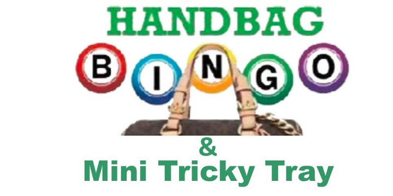 handbag bingo & mini tricky tray