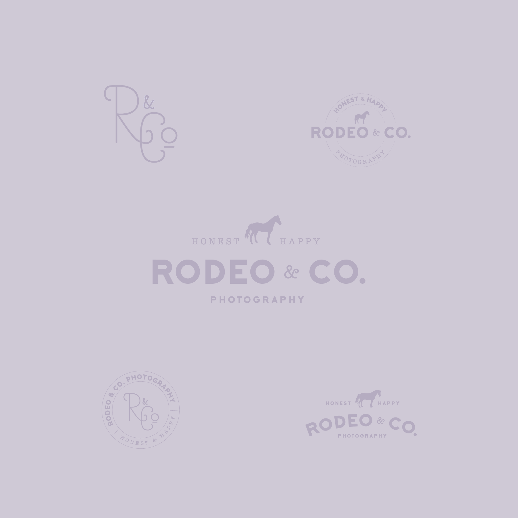 Rodeo & Co. Photography Logo Design