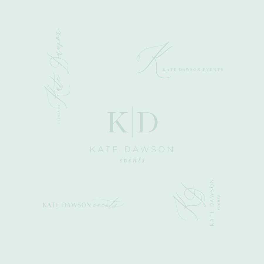 Kate Dawson Events Logo Design