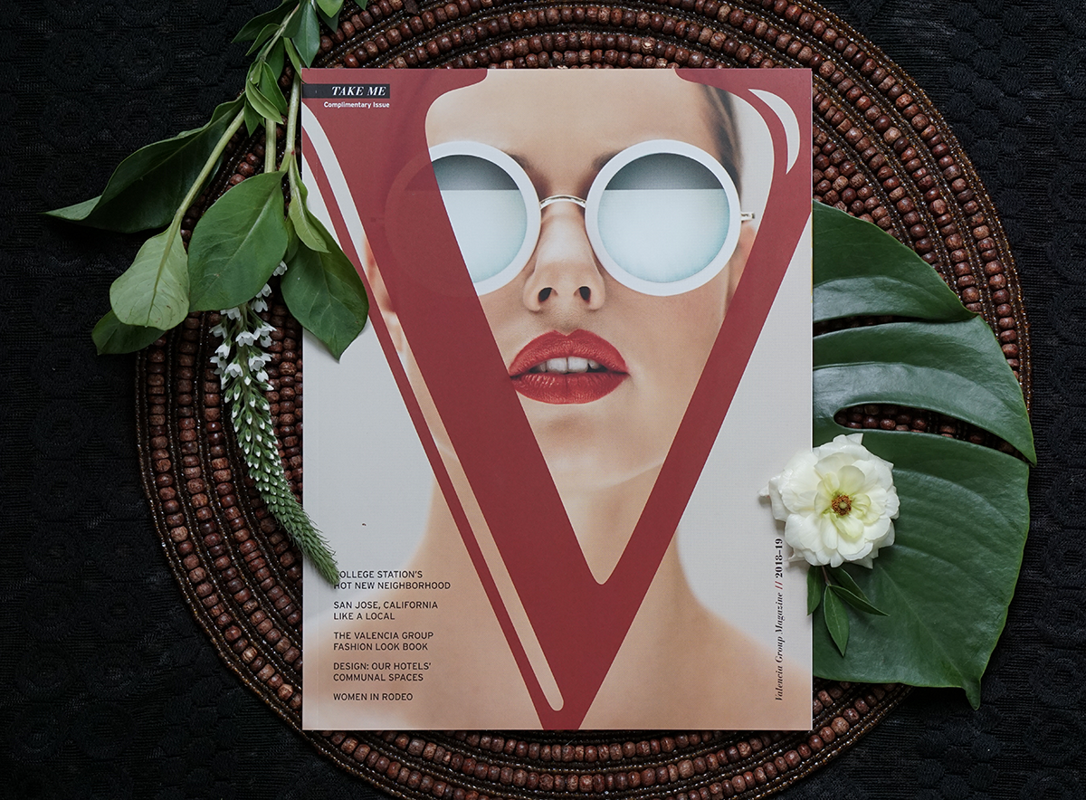 Cover and Feature Layout: Valencia Hotels Magazine