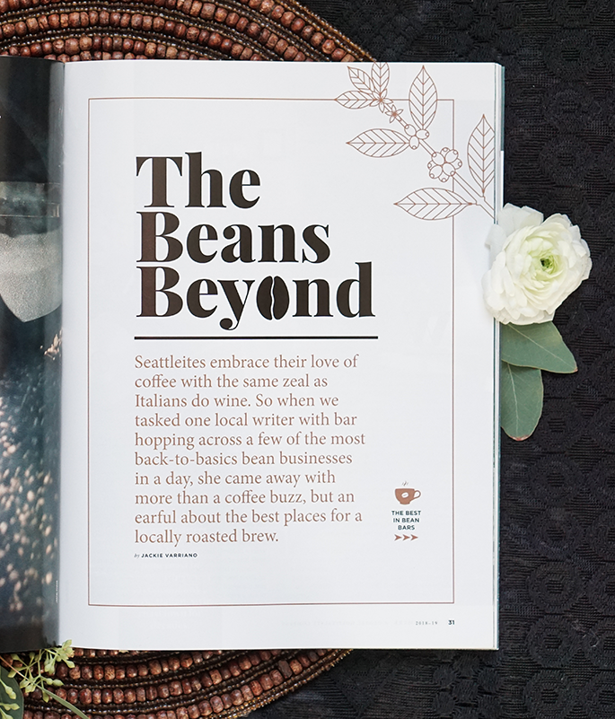 Cover and Feature Layout: Benchmark Hotels Magazine.