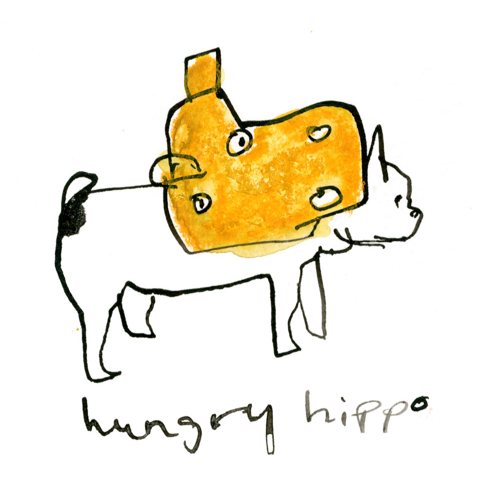 Hungry Hippo guy again © Carly Larsson 2014
