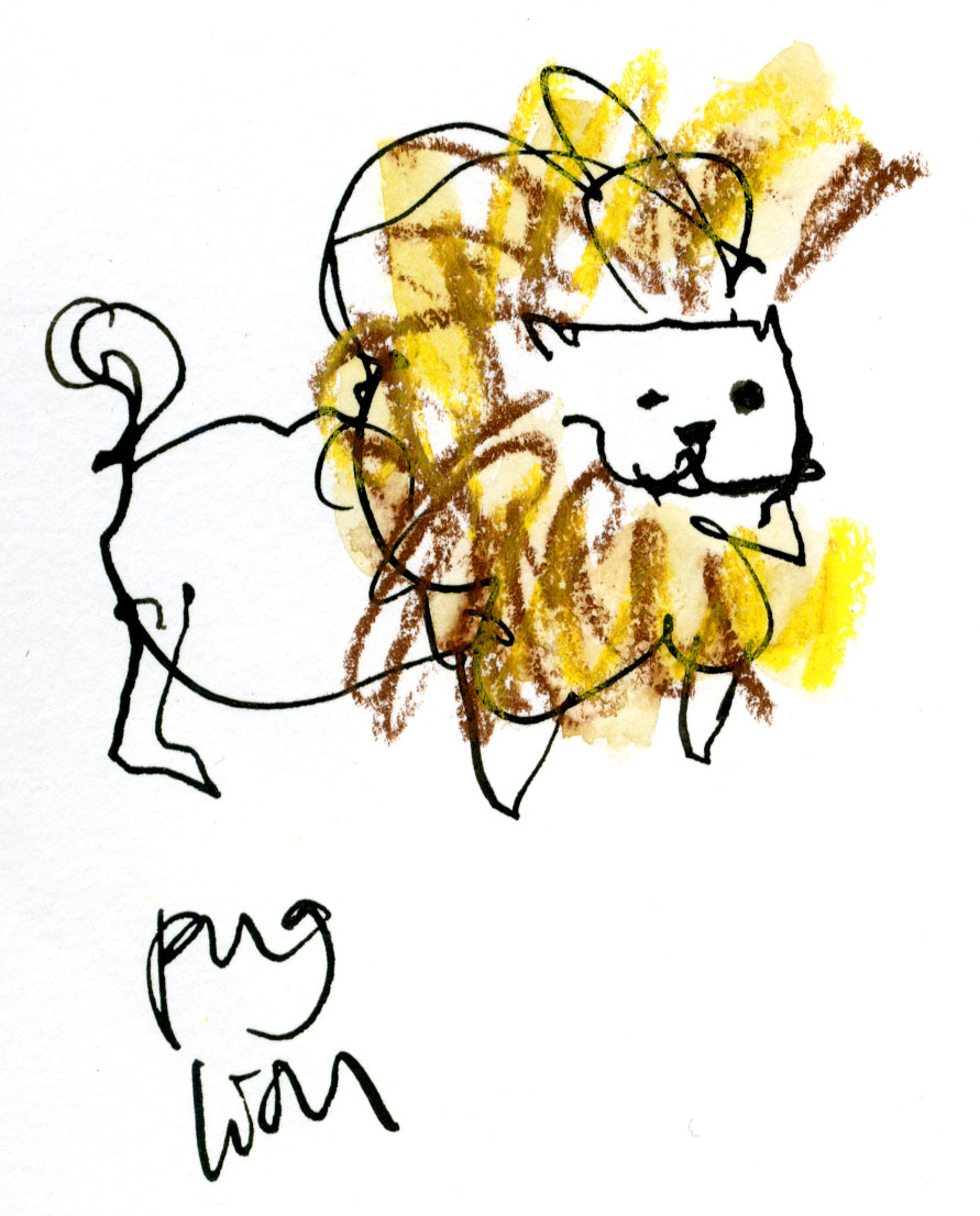 Pug lion © Carly Larsson 2014