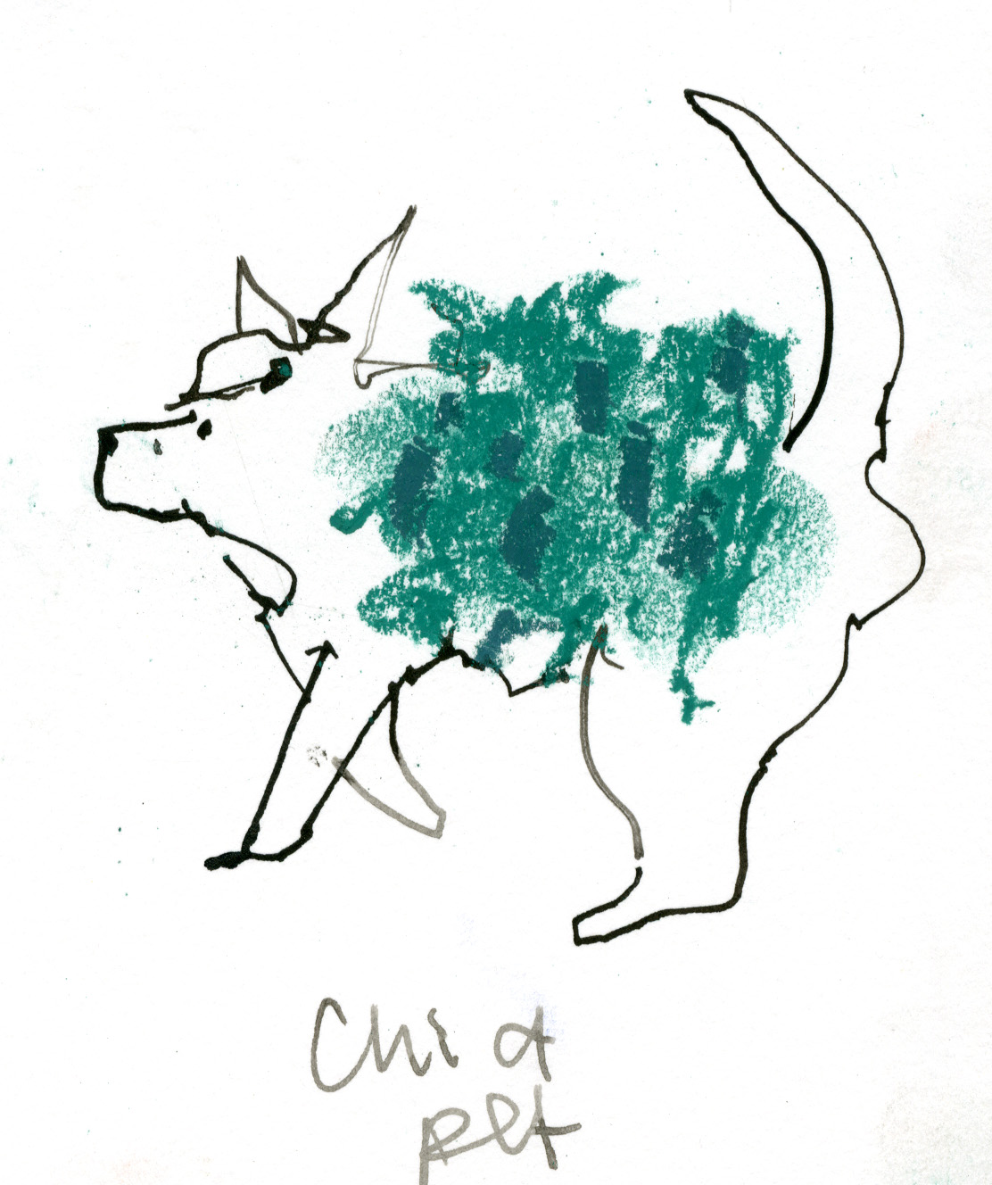 Chia Pet © Carly Larsson 2014