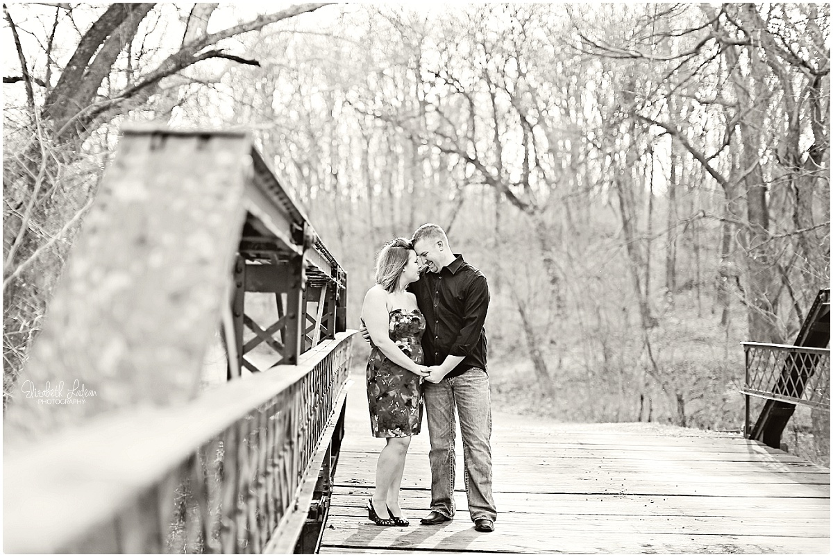 Watkins Mill engagement session