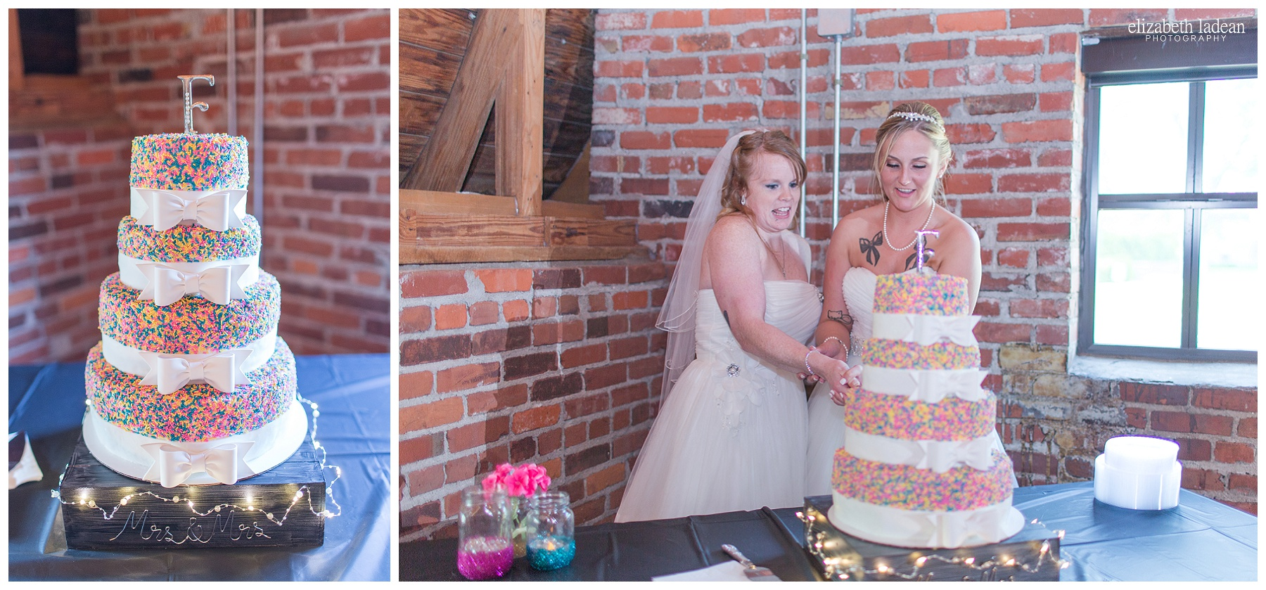 Wedding Reception at Thompson Barn