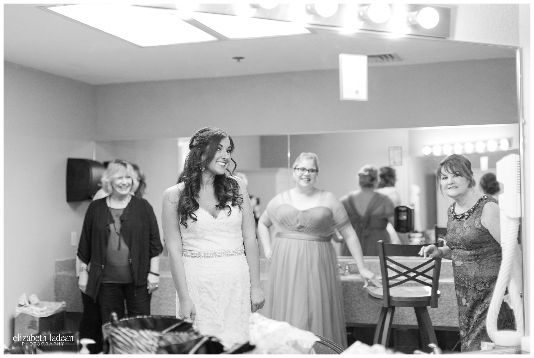 Bridal room at Hillcrest Country Club