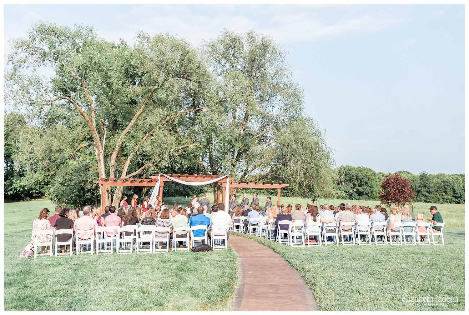 The Legacy at Green Hills outdoor wedding ceremony, by Elizabeth Ladean