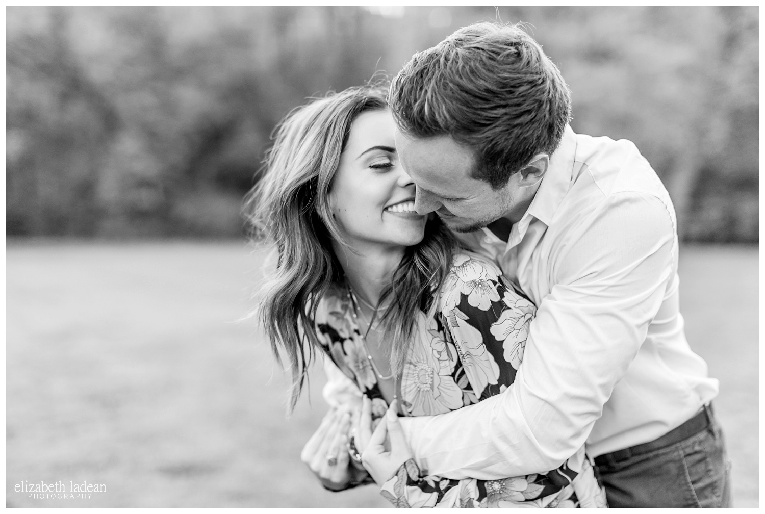 KC photography engagement session