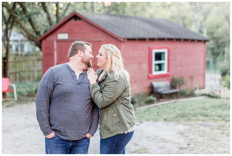 Weston Missouri engagement photography