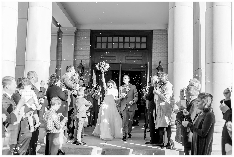 bubble exit wedding photos