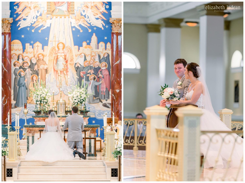 St Michael Catholic Church Wedding Photography in Kansas