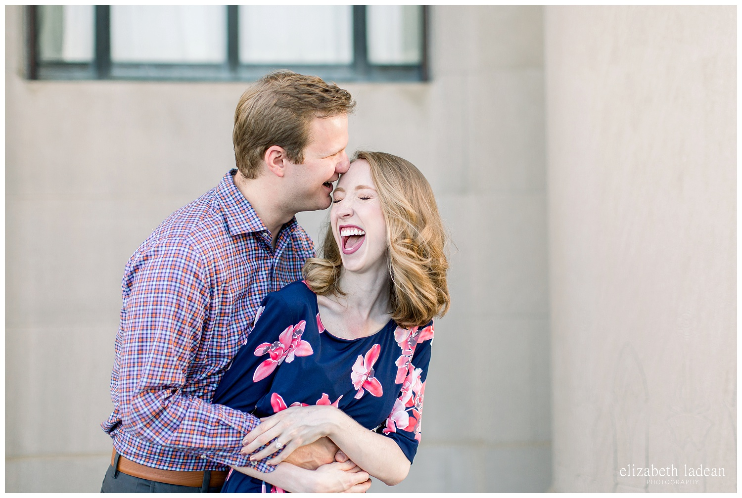 authentic natural light engagement photography in kansas city