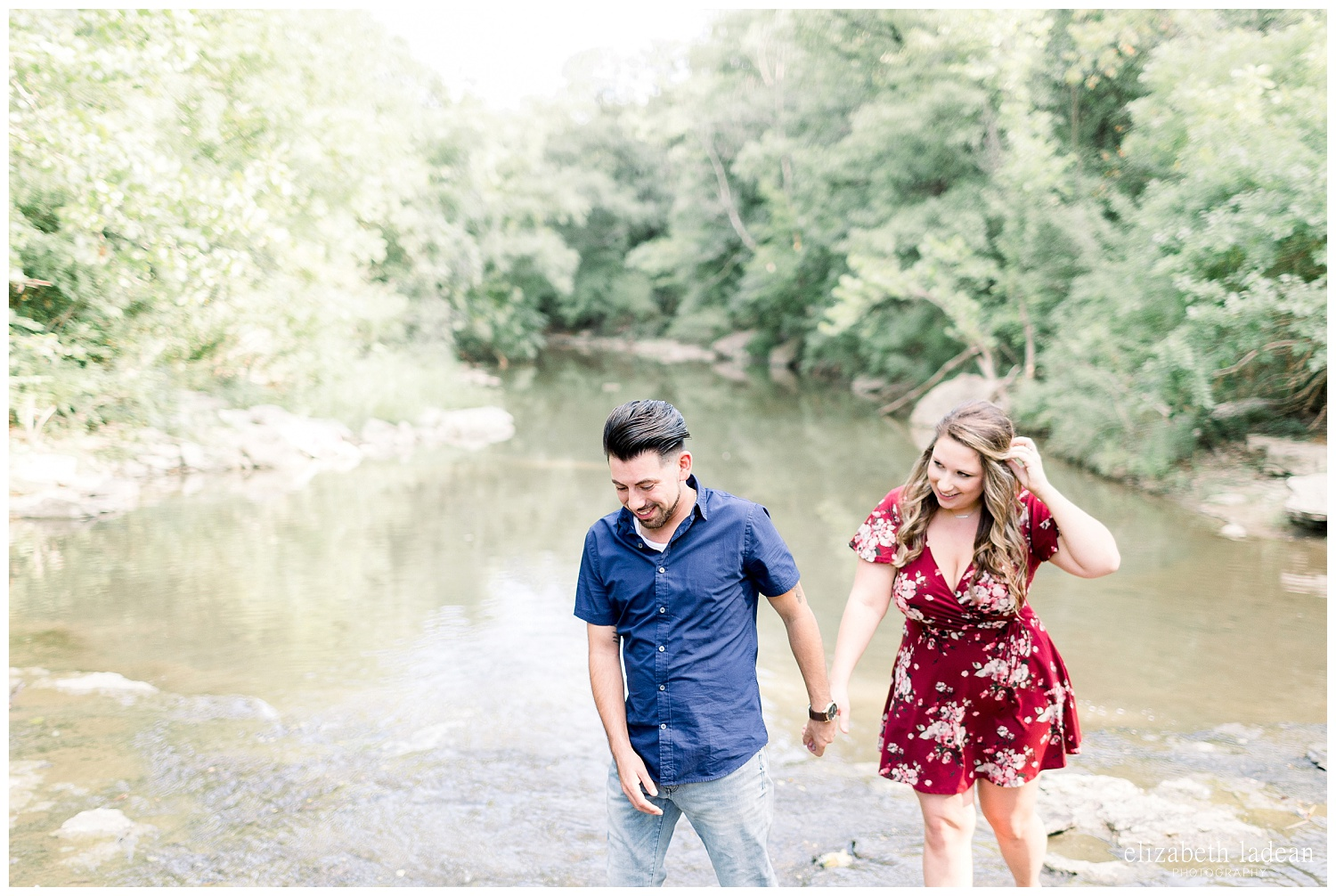 unique engagement photography kansas city