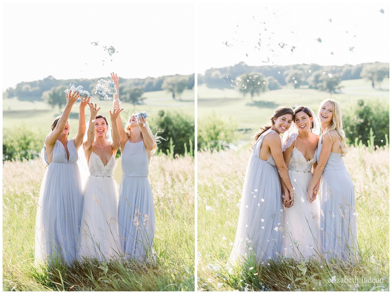bride and bridesmaid photos