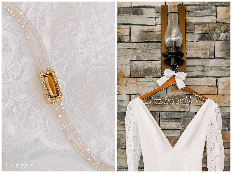 plunging neckline wedding gown