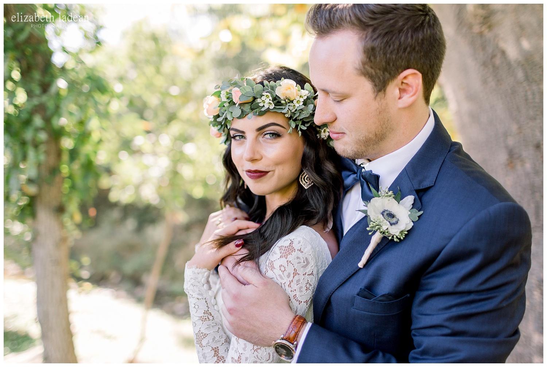 bride with floral crown weddings