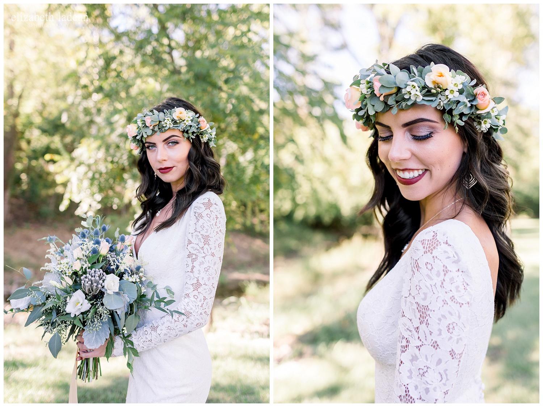 boho bride style photography