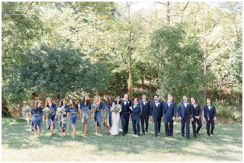 bridal party photography kansas city