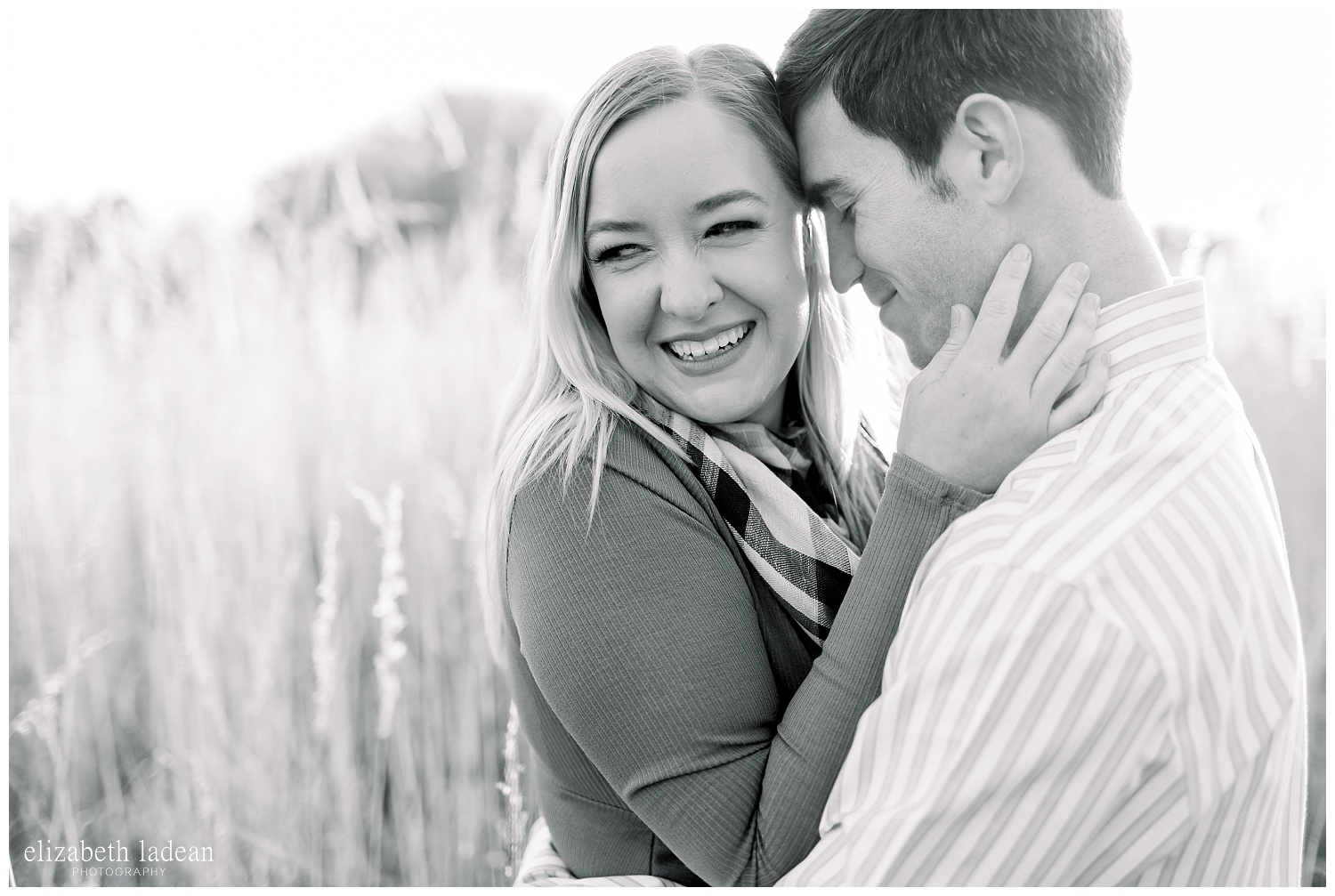 kansas city natural light engagement photography