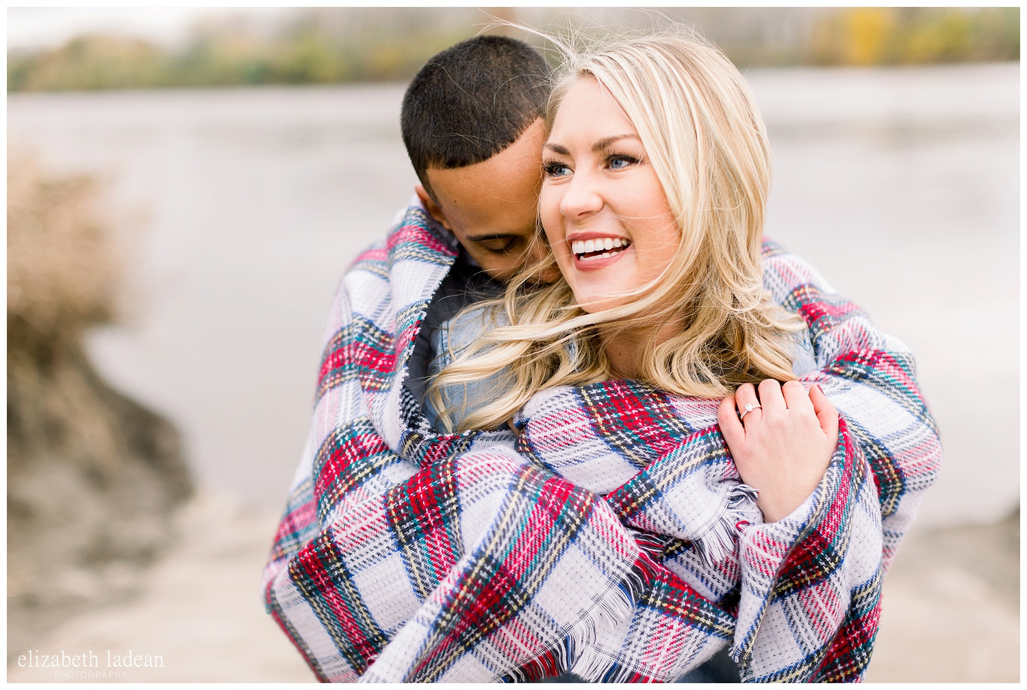 joyous and natural engagement photography