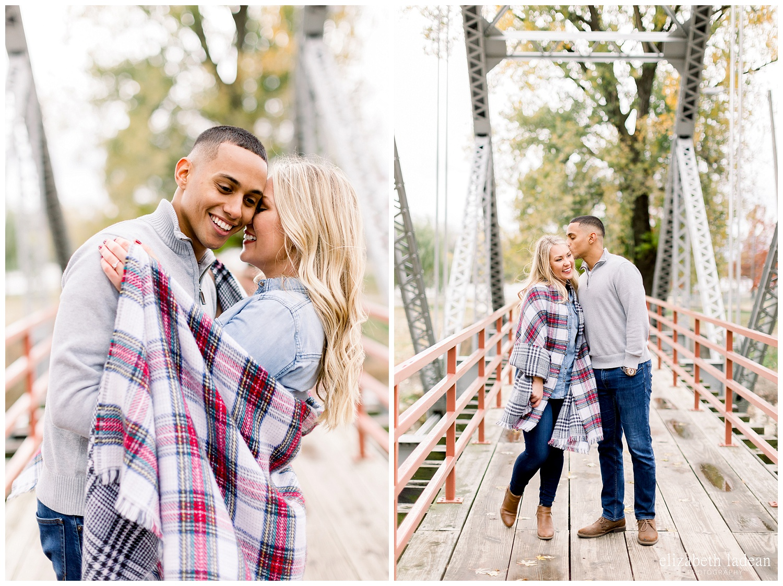 Kansas City engagement and wedding photographer