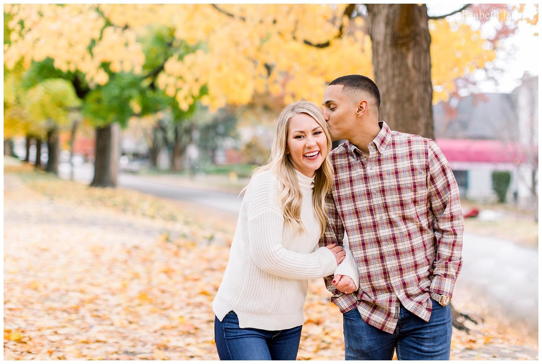 Kansas City natural light wedding and engagement photographer