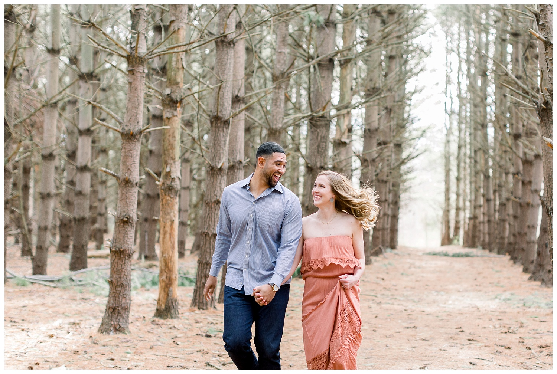 Burr Oak Woods engagement photography