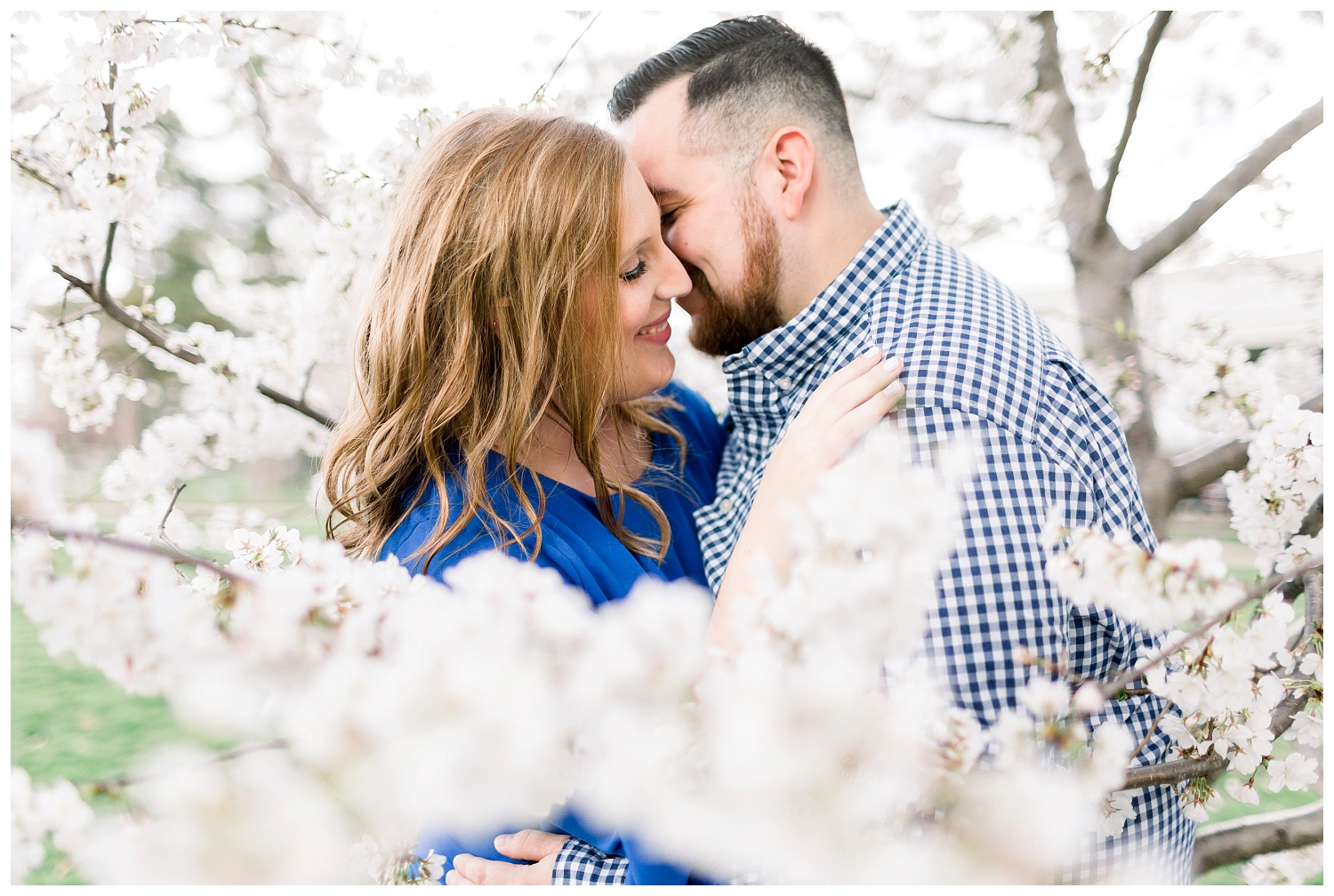 Springtime Engagement Session in Kansas City
