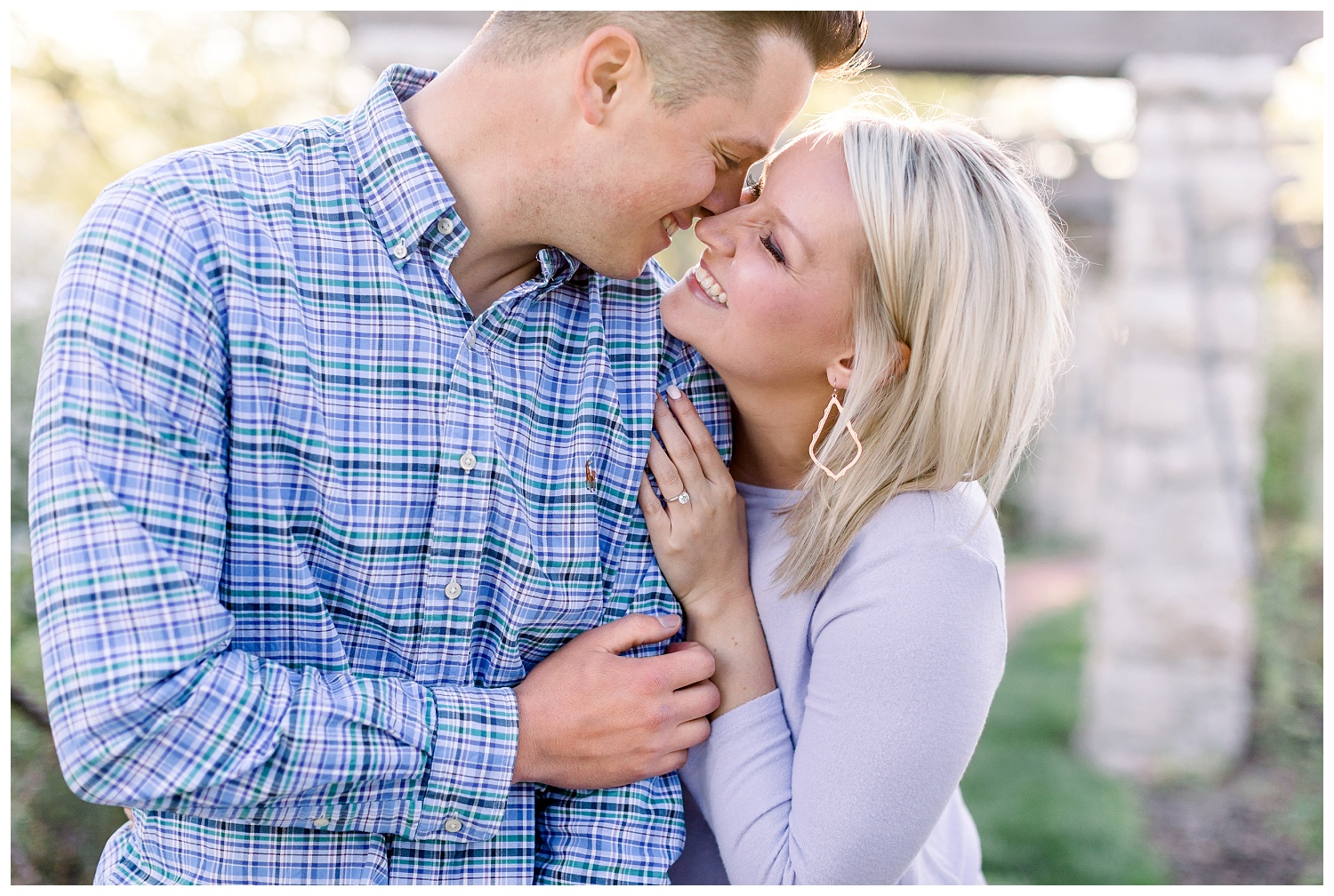 joyful and authentic engagement photos