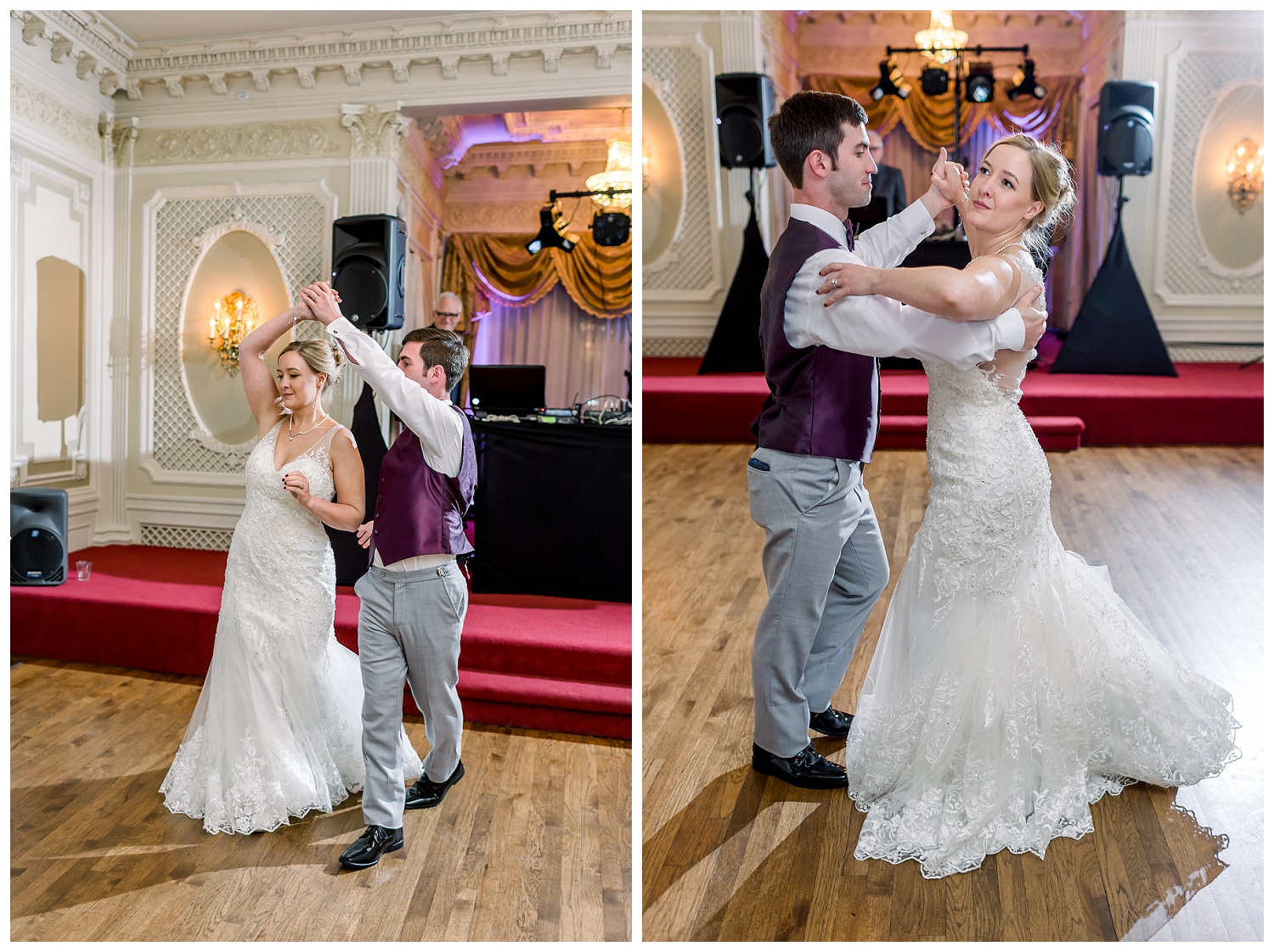 Loose Mansion wedding photography downtown KC