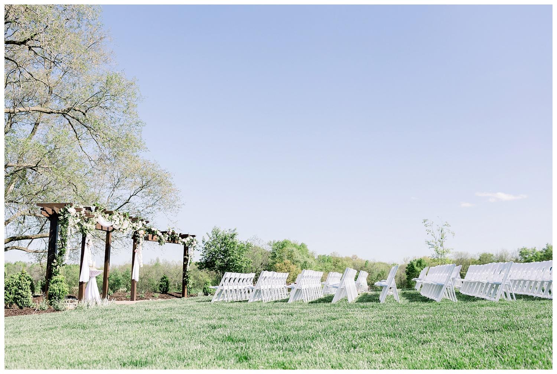 Outdoor wedding ceremonies in Kansas City