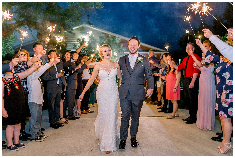 sparkler exits wedding photography inspiration