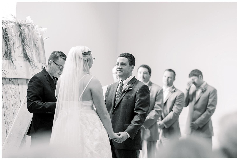 Johnson County Arts and Heritage Center wedding ceremony