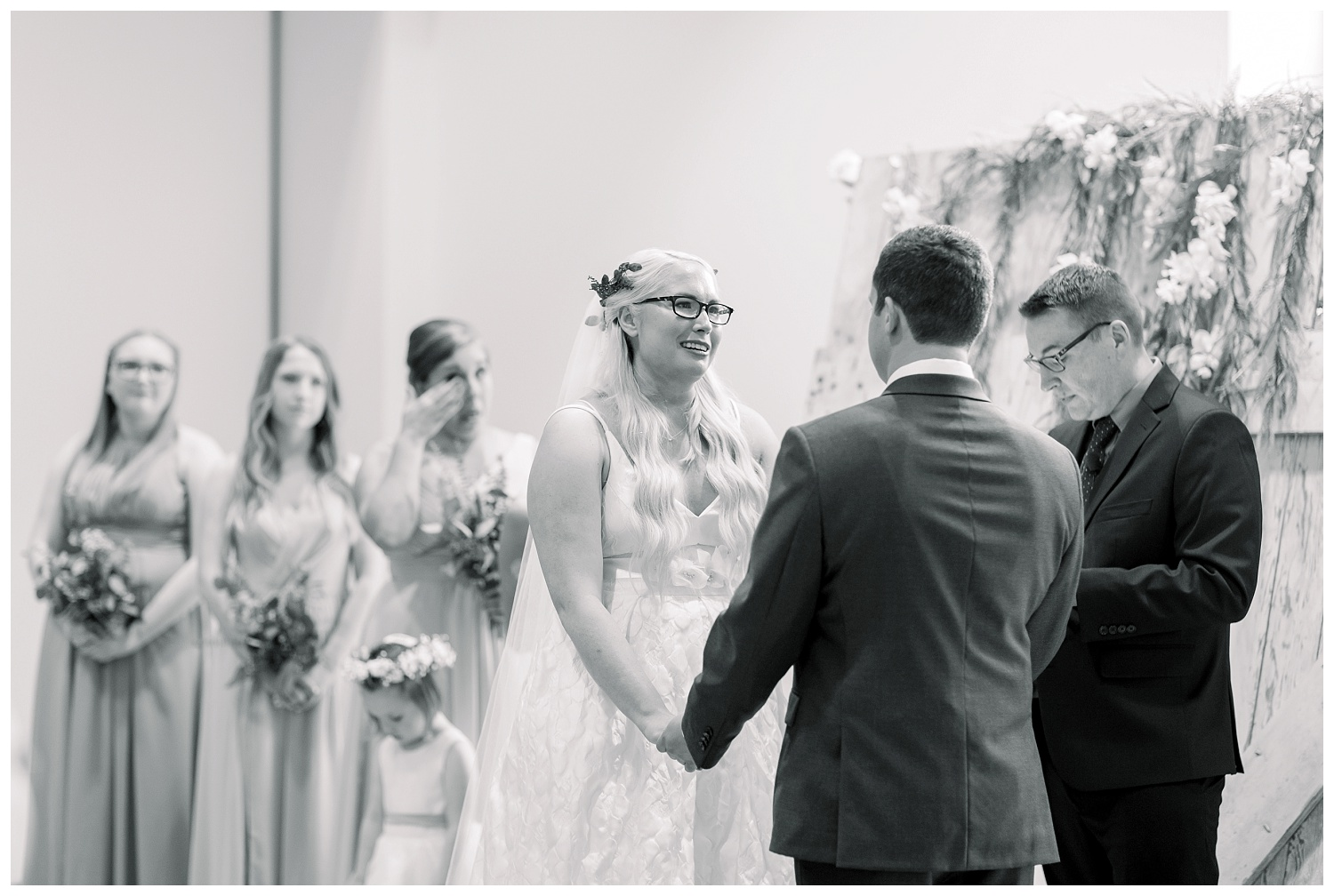 Wedding Ceremony at Johnson County Arts and Heritage