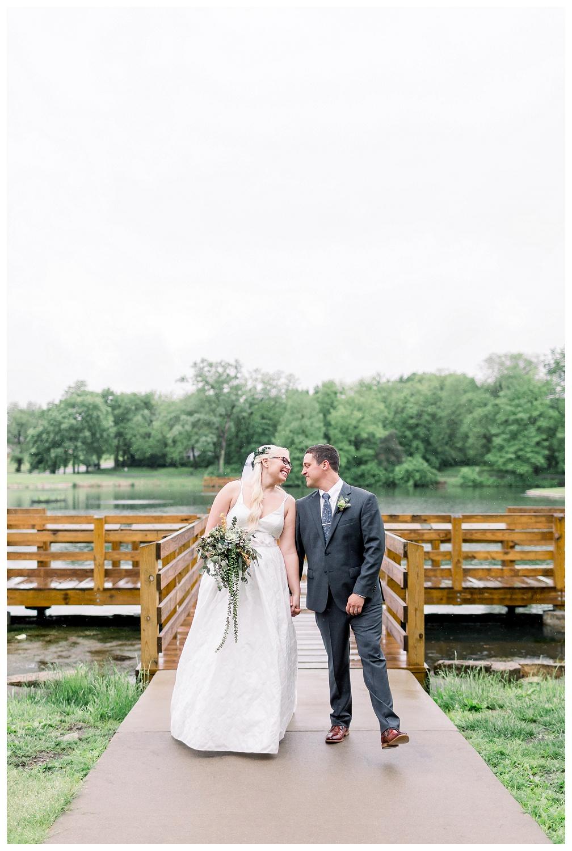 Rainy wedding day photography in Kansas City