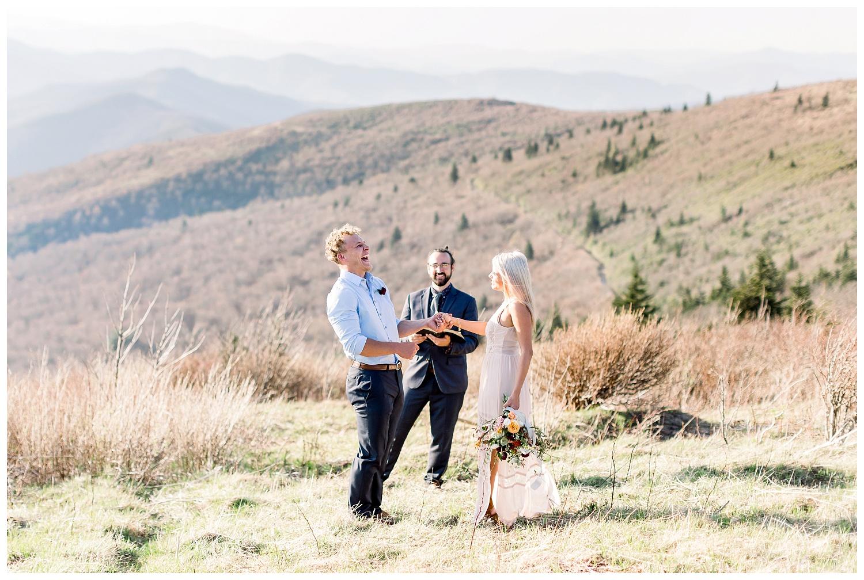 Black Balsam elopement photographers